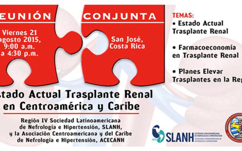 Estado actual del trasplante renal en Centroamérica y el Caribe