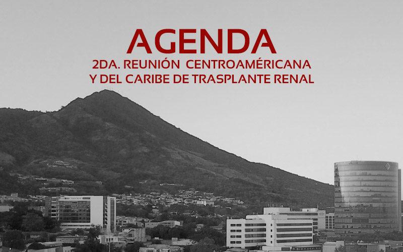Agenda 2da Reunión Trasplante Renal
